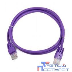 Bion Патч корд UTP кат.5е 1м фиолетовый  CCA  [Бион][BNPP12-1M/V]
