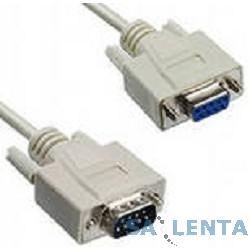 Greenconnect Кабель удлинитель 3m COM RS-232 порта [GCR-DB9CM2F-3m], 9M / 9F, 30 AWG