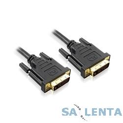 Greenconnect Кабель 3m DVI-D dual link 25M / 25M [GC-DM2DMC-3.0m]