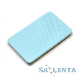 AgeStar Внешний корпус 2.5″ SATA AgeStar SUB2O7 USB2.0, алюминий+пластик, синий [09688]