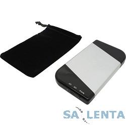 AgeStar Внешний корпус 2,5″ SATA AgeStar SUB2A7 USB2.0, алюминий, серебристый [04509]