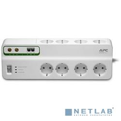 APC PMF83VT-RS сетевой фильтр 3м, белый