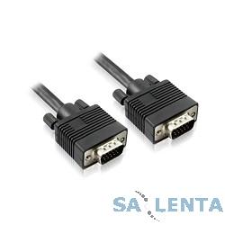 Greenconnect Кабель SVGA 5m 15M / 15M Premium, экран, ферритовые кольца [GC-VM2VM-5m]