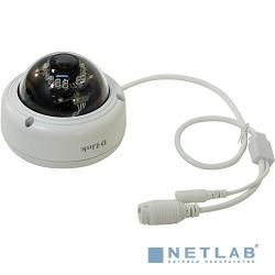 D-Link DCS-4602EV/UPA/B1A Внешняя купольная антивандальная сетевая 2 МП Full HD-камера с поддержкой WDR, PoE и ночной съемки