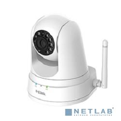 D-Link DCS-5030L/A1A Беспроводная облачная сетевая HD-камера с приводом наклона/поворота, поддержкой ночной съемки и режимом повторителя
