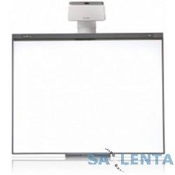 SMART Boar SB480iv5: Интерактивная доска SMART Board 480 (диагональ 77″ (195.6 cm), формат 4:3, ключ активации SMART NOTEBOOK в комплекте), проектор SMART U100 (1026097)+ настенное крепление (1026830)