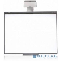 SMART Boar SB480 : Интерактивная доска SMART Board 480(диагональ 77'' (195.6 cm)1028525,формат4:3,ключ активации SMART NOTEBOOK в комплекте),проектор SMART U100(1026097)+ настенное крепление(1026830)