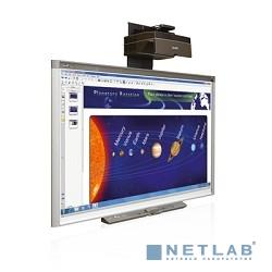 Комплект SMART SBX885ix2: интерактивная доска SMART Board X885, расширенная панель управления ЕСР(1020131), крепление и проектор UX80 в одной коробке (1018316); состоит из 3 мест