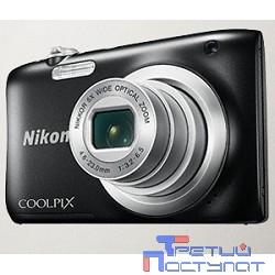 Nikon CoolPix A100 черный {20Mp 10x 2.7