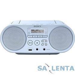 Sony ZS-PS50 голубой 4Вт/CD/CDRW/MP3/FM(dig)/USB