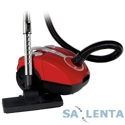 Пылесосы MYSTERY MVC-1116 red, 1500 Вт, сухая, 3 сменных бумажных мешка, регулировка мощности, HEPA фильтр