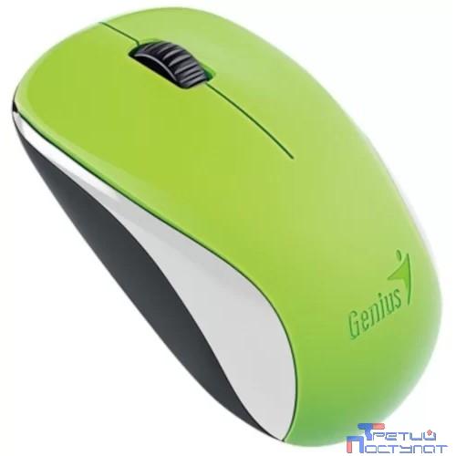 Genius NX-7000 G5 Hanger Green, 2.4Ghz wireless BlueEye mouse 1200 dpi powerful BlueEye AA x 1 [31030109111]