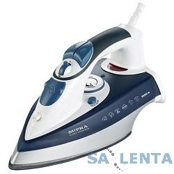 Утюг SUPRA IS-2602C 2600Вт белый/синий