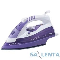 Утюг SUPRA IS-2201 2200Вт фиолетовый/белый