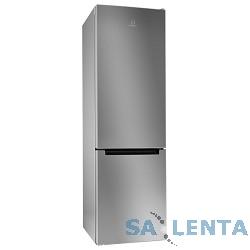 INDESIT/ 200x60x64, 249/75 л, (DFE 4200 S) No Frost, нижняя морозильная камера, серебристый