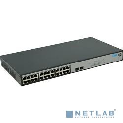 HP JH018A Коммутатор HPE 1420-24G-2S  неуправляемый 19U 24x10/100/1000BASE-T