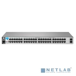 HP J9855A Коммутатор HPE 2530-48G-2SFP+ управляемый 19U 48x10/100/1000BASE-T, + 2*1G/10G SFP+