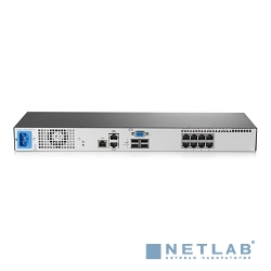 HP AF651A Коммутатор HPE 0x1x8 G3 KVM Console