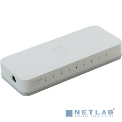 D-Link DES-1008C/A1B Неуправляемый коммутатор с 8 портами 10/100Base-TX и функцией энергосбережения