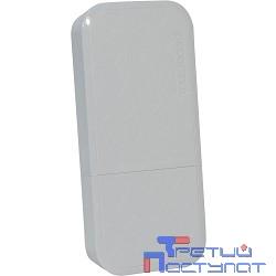 MikroTik wAP RBwAP2nD wAP (White) Беспроводная точка доступа 1UTP  10/100Mbps,  802.11g/n,  2dBi