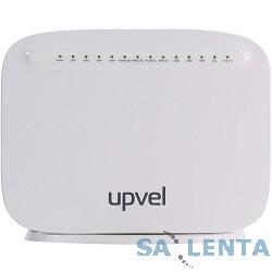 UPVEL UR-835VCU Wi-Fi роутер стандарта 802.11ac 1600Мбит/с с портом VDSL/ADSL, 2 USB-порта с поддержкой 3G/LTE -модемов, 1 порт WAN 10/100/1000 Мбит/с + 4 порта LAN 10/100/1000 Мбит/с, 5*антенн 3 дБи