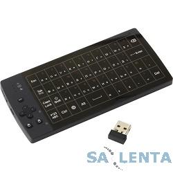UPVEL UM-517KB Беспроводной полноразмерный TouchPad пульт + полная 56 клавишная QWERTY клавиатура (стильный HI-TECH корпус)