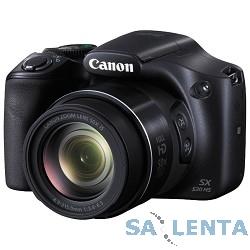 Canon PowerShot SX530 HS [9779B002] черный {16Mpix Zoom50x 3″ 1080p SDXC CMOS 1×2.3 IS opt 1.6fr/s 30fr/s HDMI/NB-6LH}