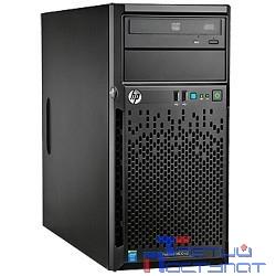 Сервер HP ProLiant ML10 Gen9 G4400, 4Gb-U, Intel RST SATA RAID (RAID 1+0/5/5+0) noHDD (4/6 LFF 3.5'' NHP) 1x300W NHP NonRPS,1x1Gb/s,noDVD,Intel AMT 11.0,Tower-4U,1-1-1 (837826-421)