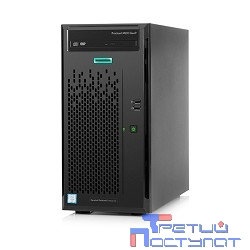 Сервер HP ProLiant ML10 Gen9 E3-1225v5, 8Gb-U, Intel RST SATA RAID (RAID 1+0/5/5+0) 1x1TB SATA NHP LFF (4/6 LFF 3.5'' NHP) 1x300W NHP NonRPS,1x1Gb/s,noDVD,Intel AMT 11.0,Tower (837829-421)