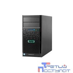 Сервер HPE ProLiant ML30 Gen9 E3-1220v5 1P 8GB-U B140i/ZM 2x1TB 4LFF SATA 350W NonRPS 2x1Gb/s DWDRW iLO4.2 Tower-4U 3-1-1 (831068-425)