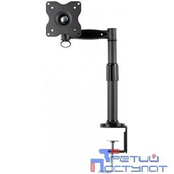 """Настольное наклонно-поворотное крепление Kromax OFFICE-1 для LCD монитора с диагональю 15""""-32"""", 3 ст. свободы, 3D вращение, VESA 75/100, 10 кг GREY"""