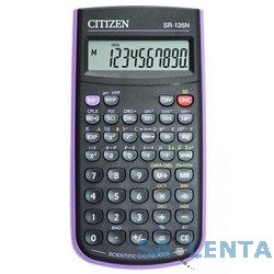 Калькулятор научный Citizen SR-135NPU черный/пурпурный 8-разр.
