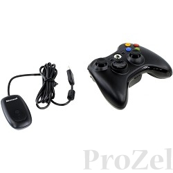 Microsoft Gamepad Wireless Common Controller Xbox360, Win, [JR9-00010]
