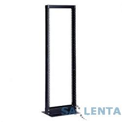 Hyperline ORV1-45-RAL9005 Открытая стойка 19-дюймовая (19″), 45U, высота 2152 мм, однорамная, цвет черный (RAL 9005)