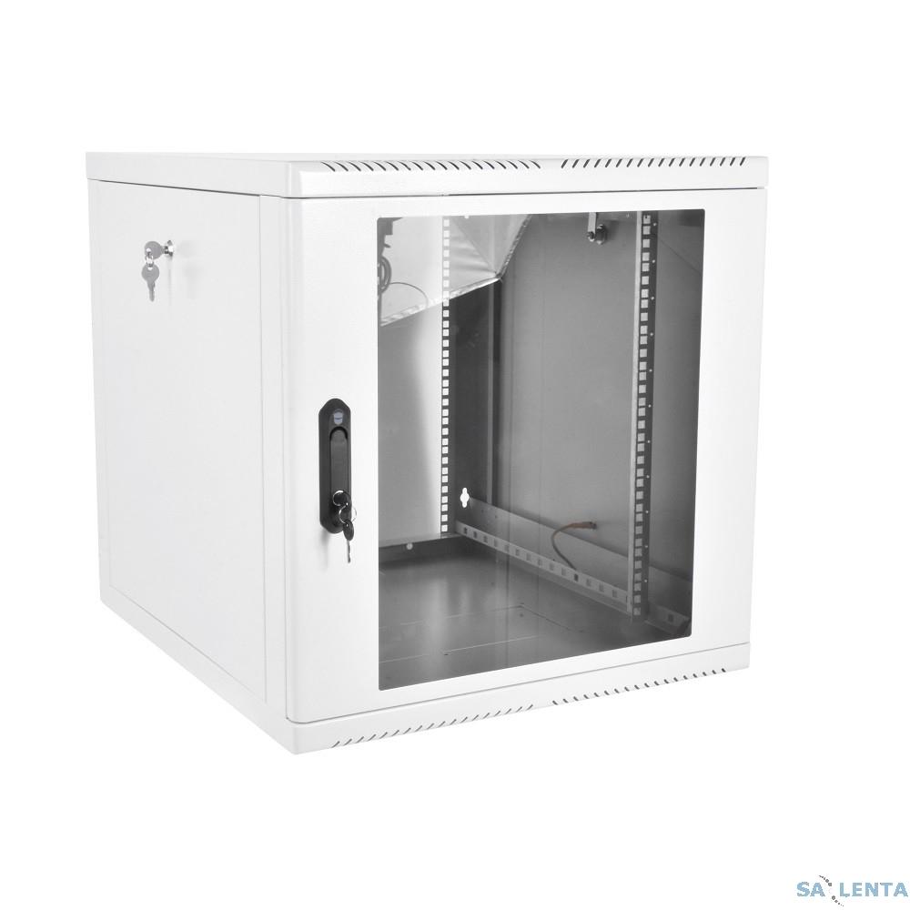 ЦМО! Шкаф телеком. настенный разборный 9U (600х650), съемные стенки, дверь стекло (ШРН-М-9.650)