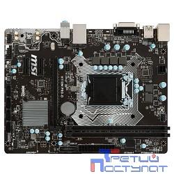 MSI H110M PRO-D RTL {S1151, H110, DDR4, PCI-E, SATAIII, GBL, USB, DVI, mATX}