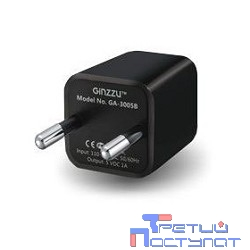 Зарядное устройство GA-3005B, СЗУ 5В/1000mA, USB, черный