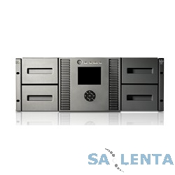 HP MSL4048 0-Drive Tape Library (up to 2 FH or 4 HH Drive), incl. Rack-mount hardware (AK381A)