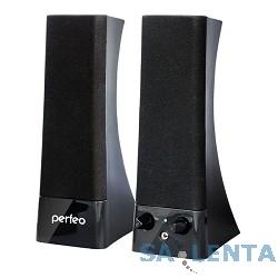 Perfeo колонки «Tower» 2.0, мощность 2х3 Вт (RMS), чёрн, USB  (PF-532)