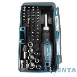 Makita B-28612 Набор 47шт,отв,биты SL Ph Pz H,торц ключи,маг держатель