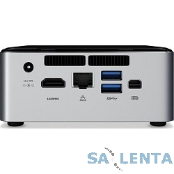 Intel NUC Kit NUC6i3SYK Swift Canyon (BOXNUC6I3SYK, BOXNUC6I3SYKL, BOXNUC6I3SYKR) Core i3-6100U, SO-DIMM DDR4, M.2 HDD, Wi-Fi, Bluetooth, GLAN, USB3.0, HDMI + mini DP, NO OS, 65W, Black-Silver