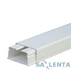 LEGRAND 030027 Кабель-канал 40 x 20мм, без перегородки, с крышкой, длина 2.10м, цвет белый