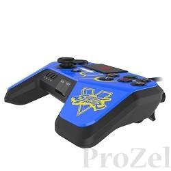 PS 4 Аркадный пад Mad Catz Street Fighter V FightPad Pro - Chun Li синий (SFV89250BSA4/04/1) [ACPS459]