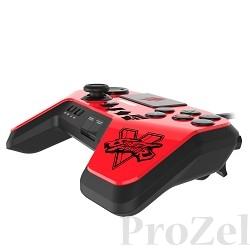 PS 4 Аркадный пад Mad Catz Street Fighter V FightPad Pro - Ken красный (SFV89250BSA3/04/1) [ACPS458]