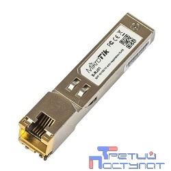 MikroTik S-RJ01 RJ45 SFP 10/100/1000M copper module