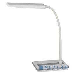 ЭРА Б0017432 Настольный светодиодный светильник NLED-446-9W-W белый {диммер яркости, цвет. температура 3000К}