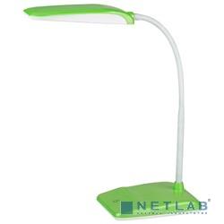 ЭРА Б0017435 Настольный светодиодный светильник NLED-447-9W-GR зеленый, дизайн ''Фиксики'' {4 ступенчатый диммер яркости, цвет. температура 4000К}
