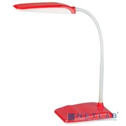 ЭРА Настольный светодиодный светильник [NLED-447-9W-R] красный