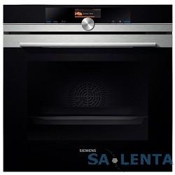 Духовой шкаф Электрический Siemens HB636GNS1 черный/сталь