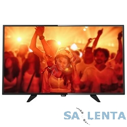 Philips 40″ 40PFT4101/60 черный {FULL HD/200Hz/DVB-T/DVB-T2/DVB-C/USB (RUS)}